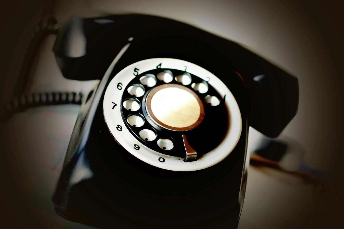Telefono di vecchia generazione