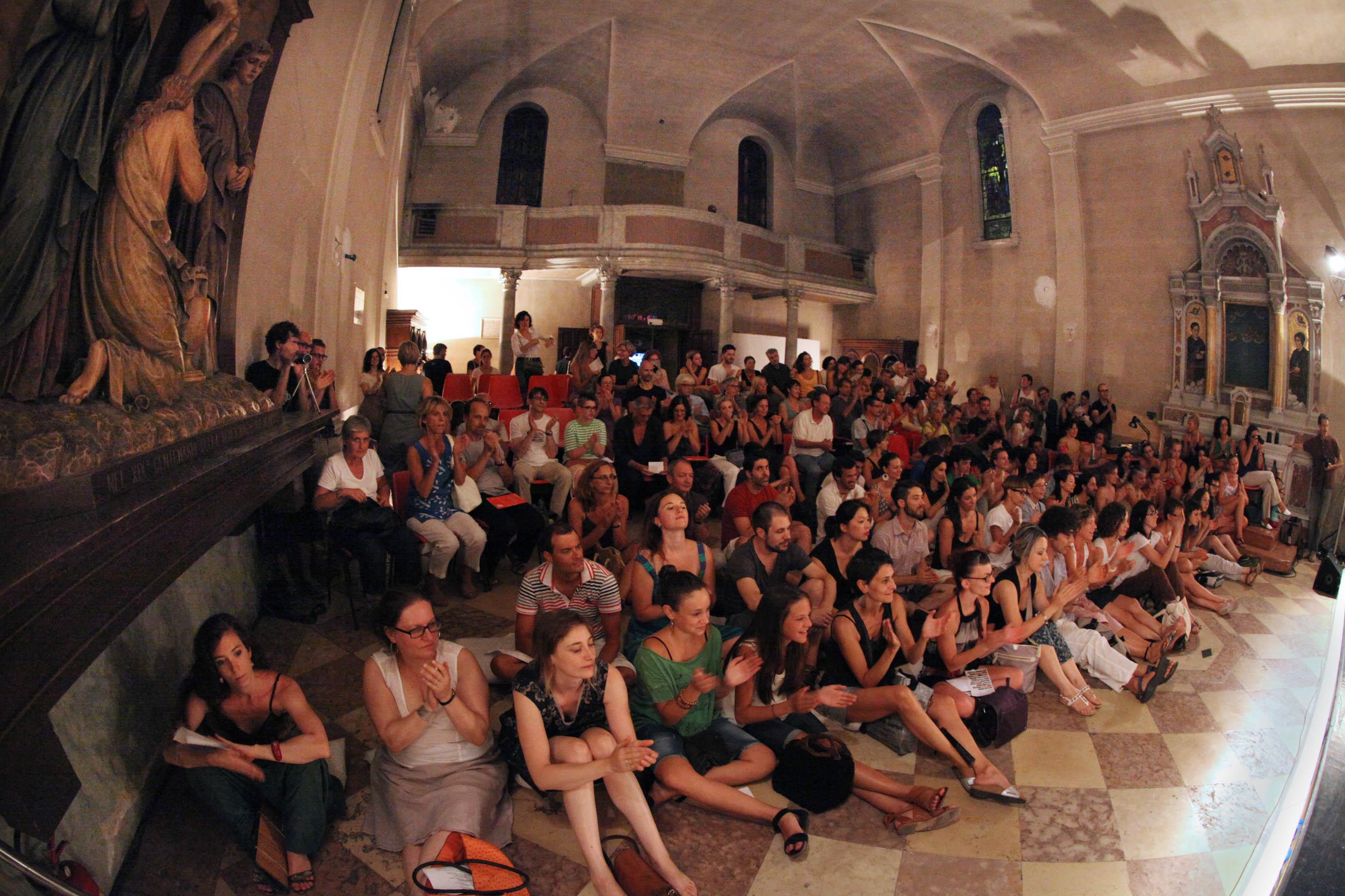 Spettatori dell'Operaestate Festival