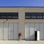Un capannone industriale in Veneto