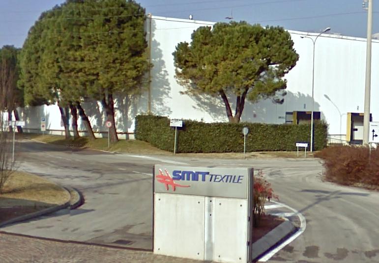 Lo stabilimento ex Smit Textile di Schio