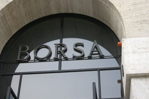 La Borsa di Milano. Foto di Giovanni Dall'Orto - Wikipedia