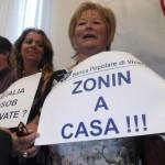 Protesta dei soci Banca Popolare di Vicenza