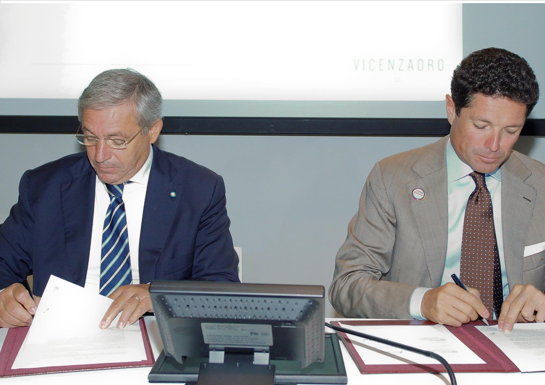 Vincenzo Giannotti e Matteo Marzotto