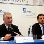 Gianni Zonin e Samuele Sorato (foto tvprato.it)