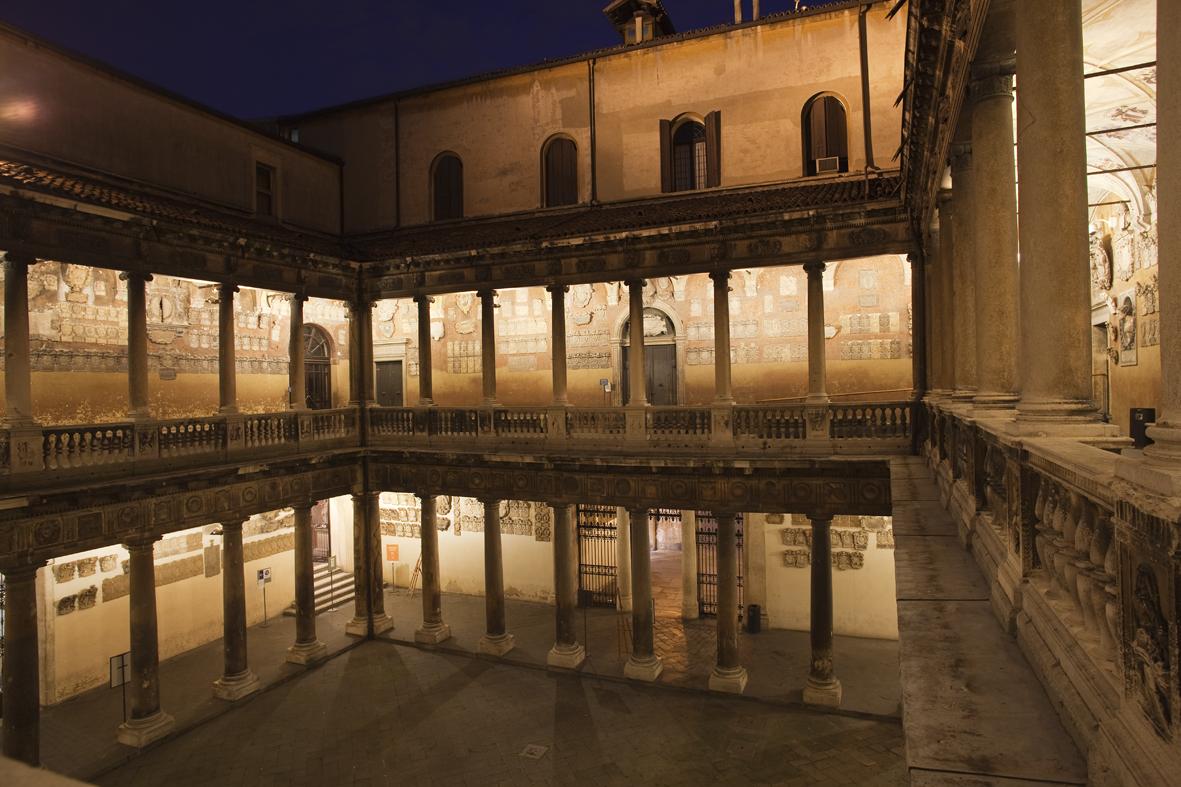 Il palazzo del Bo, sede dell'Università degli studi di Padova