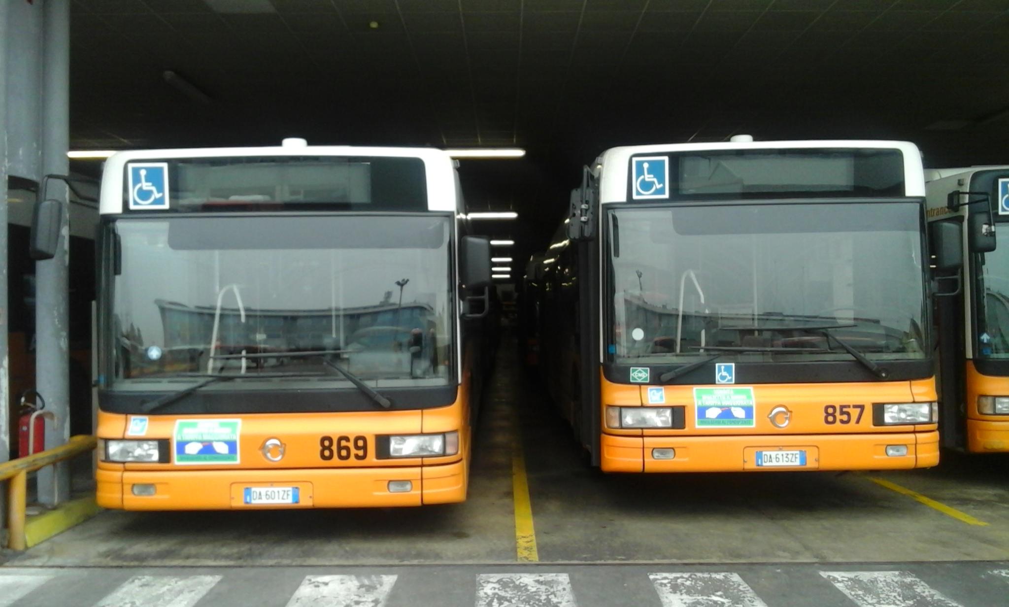 Autobus a Padova