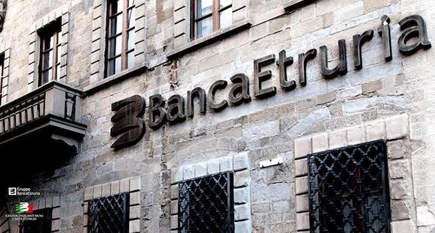 Una sede di Banca Etruria
