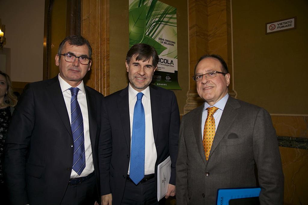 Maurizio Danese, Andrea Olivero e Giovanni Mantovani