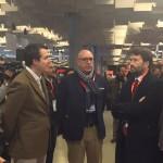 Gli ideatori di Bookingfor con il ministro Franceschini