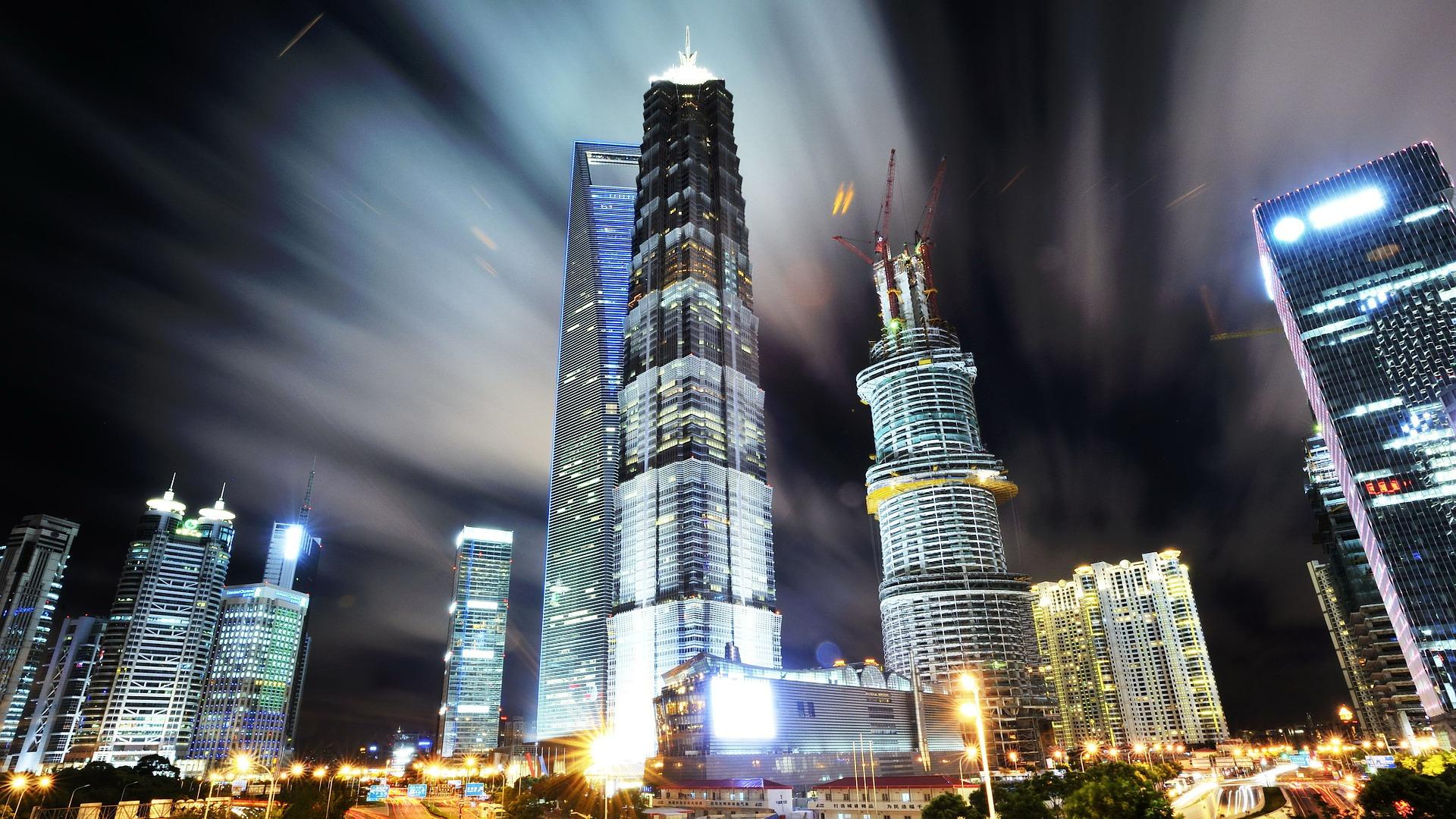 Shangai in Cina