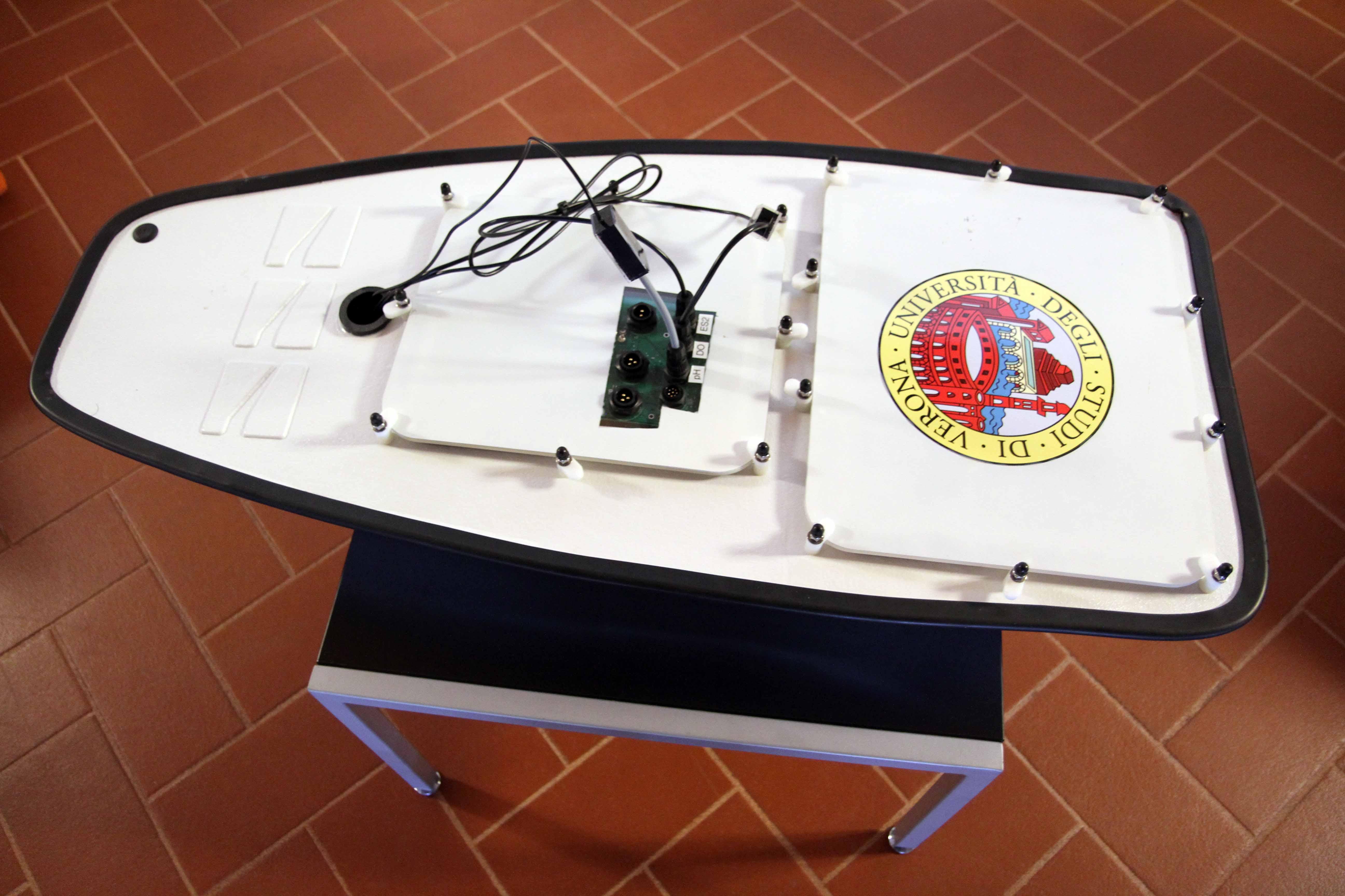 drone acquatico