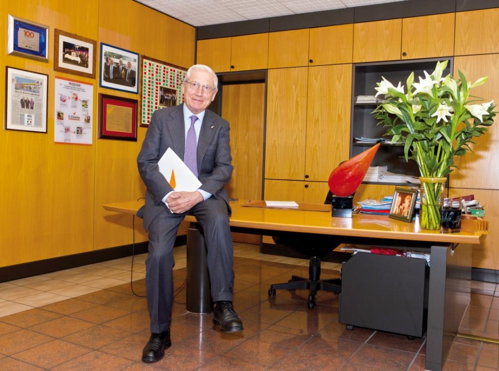 Francesco Canella, presidente del gruppo Alì