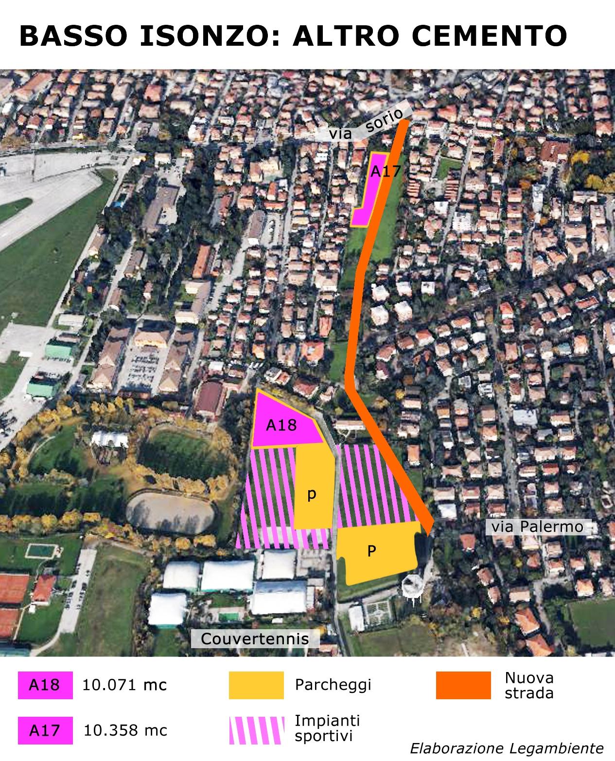 mappa passo isonzo