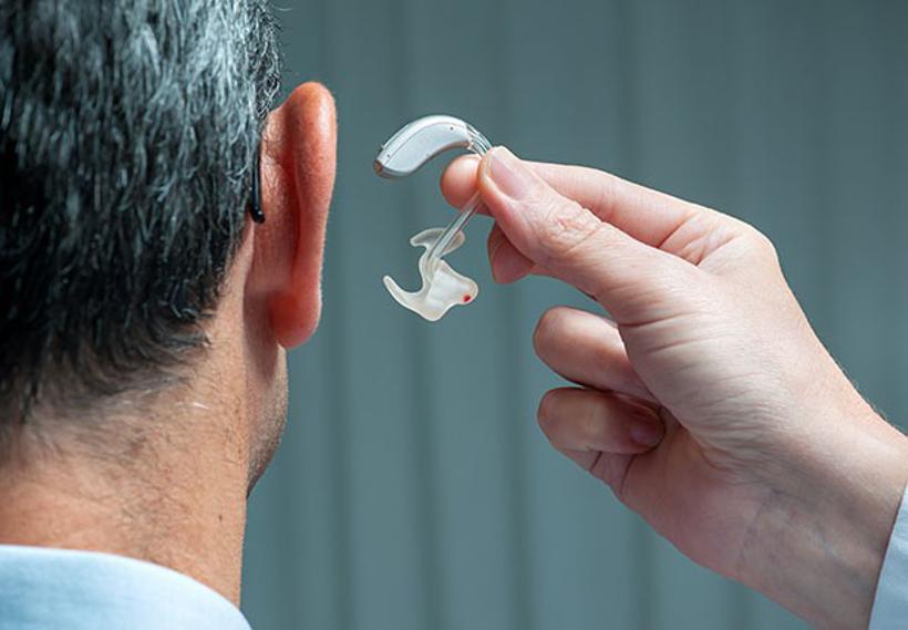 apparecchio per l'udito. Audin contro Audium