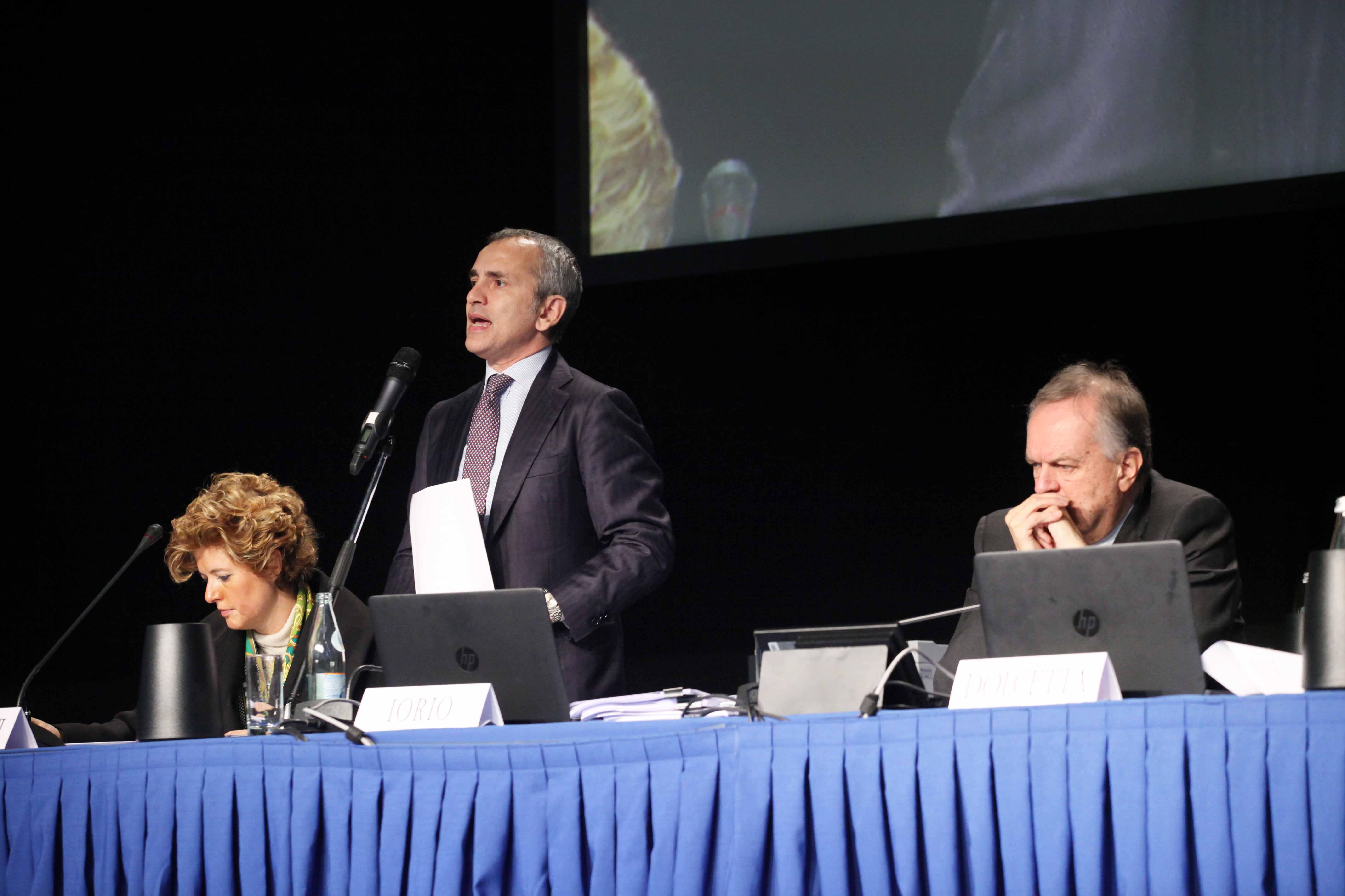 Iorio e Dolcetta Assemblea Banca Popolare di Vicenza 2016