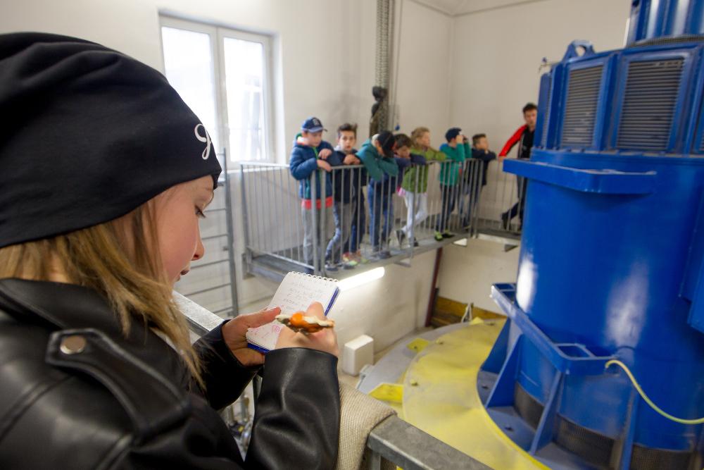 Foto Solero, visita degli studenti di Sappada alla centrale di San Nicolò