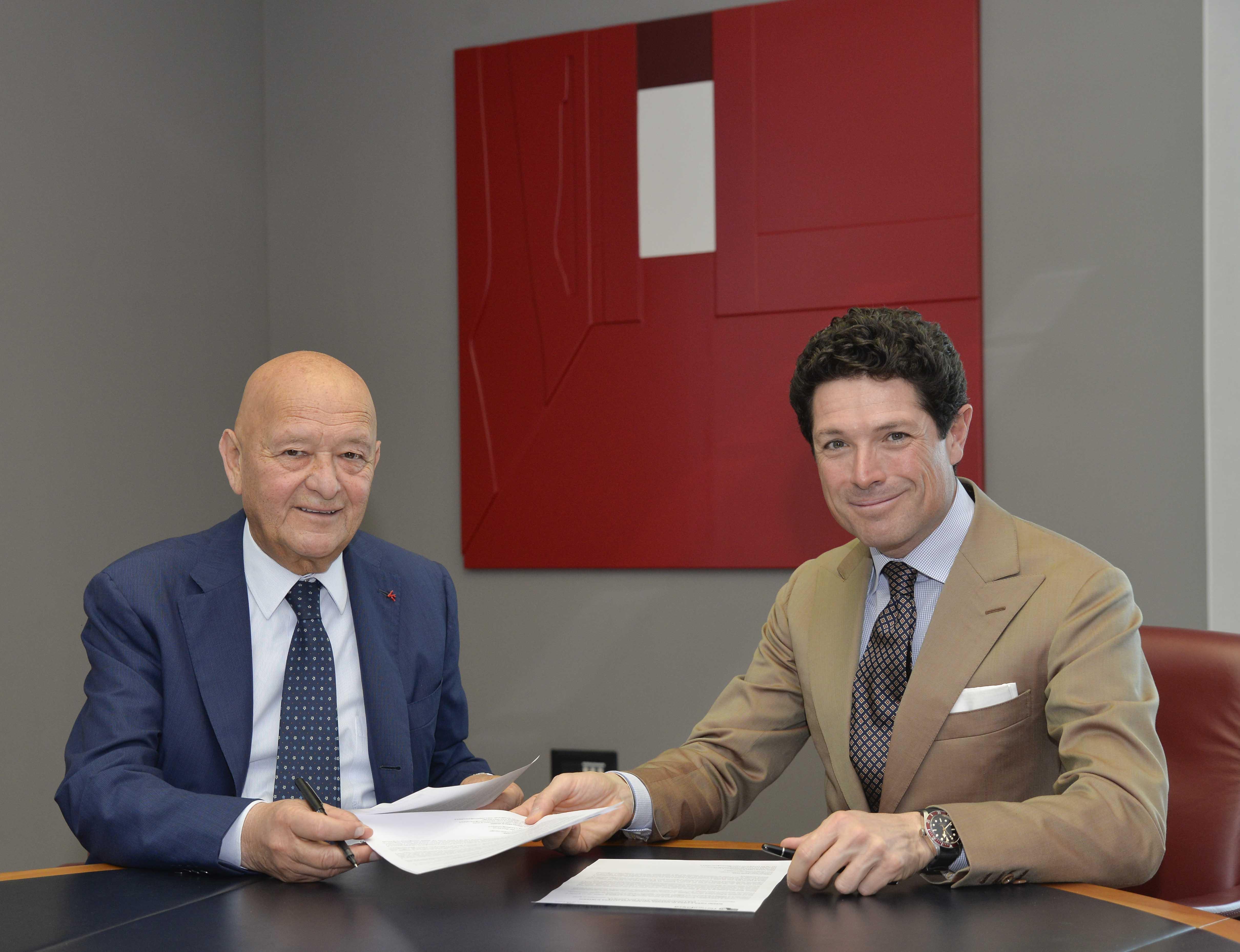 Lorenzo Cagnoni e Matteo Marzotto