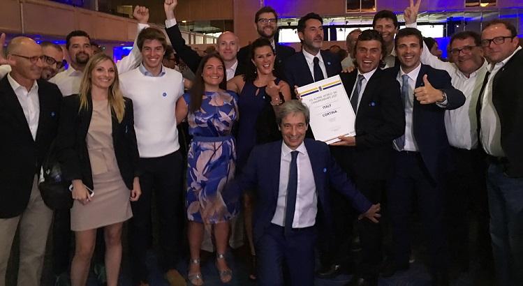 Cortina 2021 vittoria Cancun