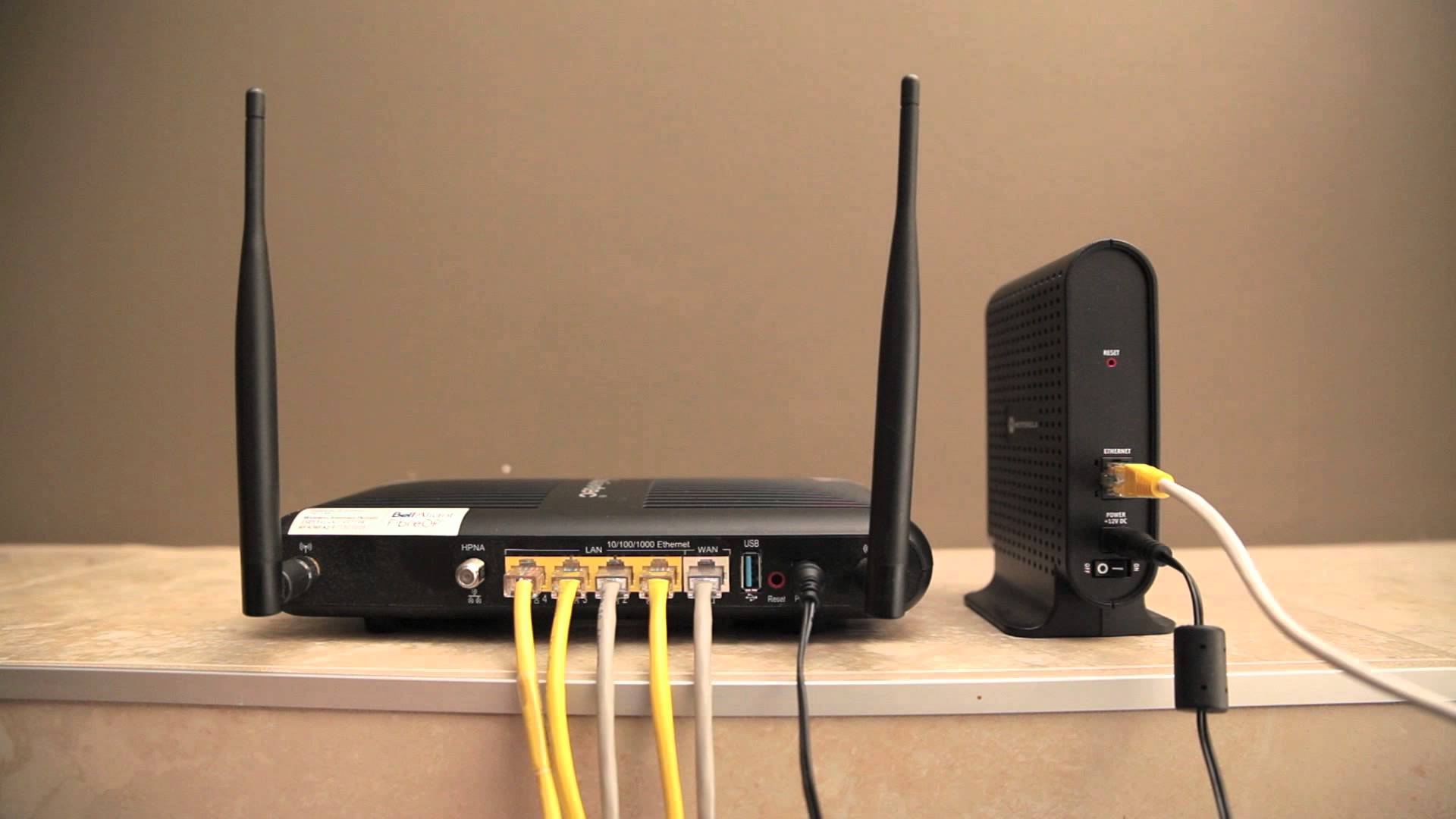 modem internet router comunicazione