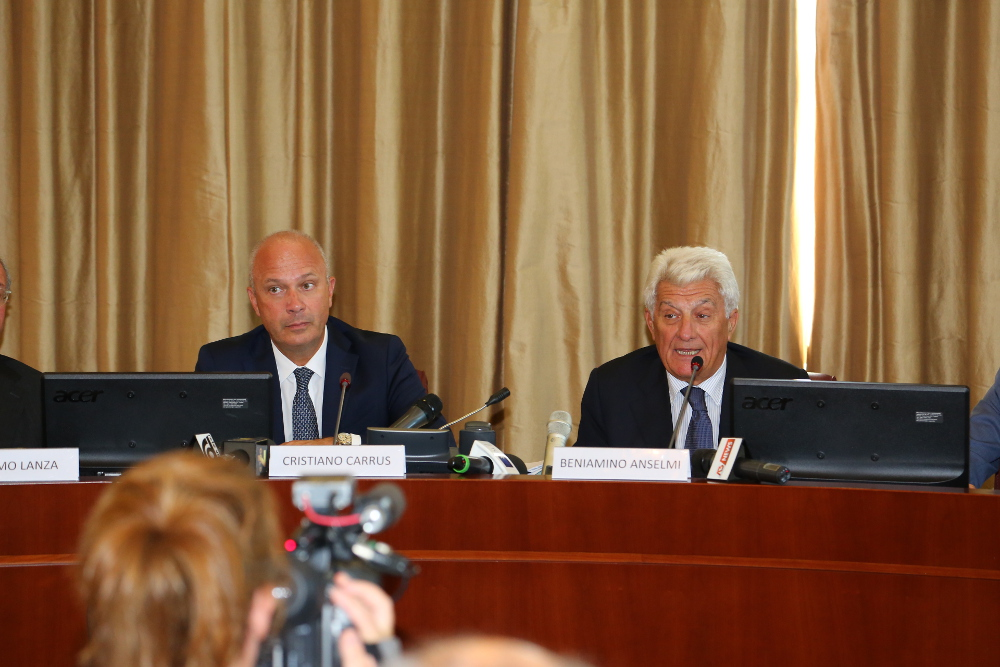 Veneto Banca, Cristiano Carrus e Beniamino Anselmi
