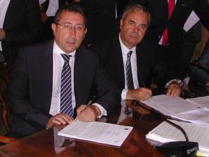 Gianluca Forcolin e Achille Variati