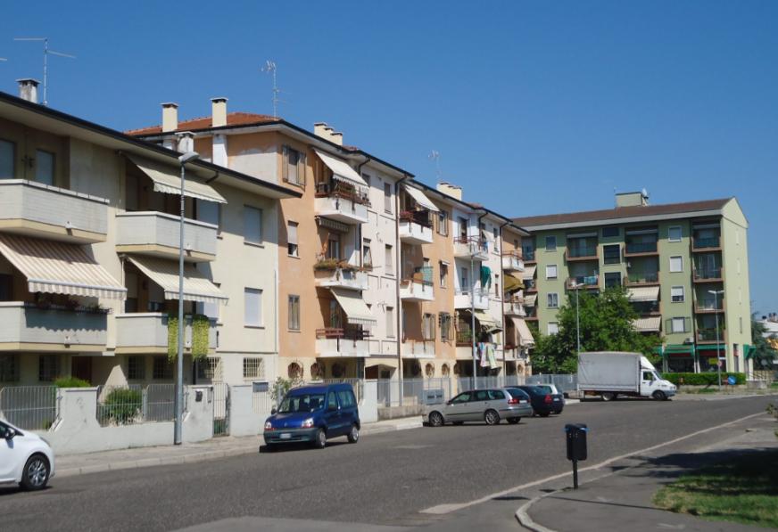 Quartiere Praissola a San Bonifacio (Verona)