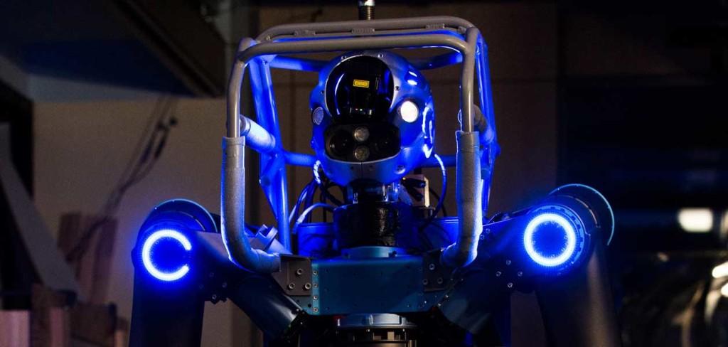 Walk-man robot