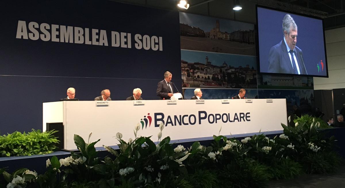 Banco Popolare e BpM, titoli giù in Borsa dopo il via libera alla fusione
