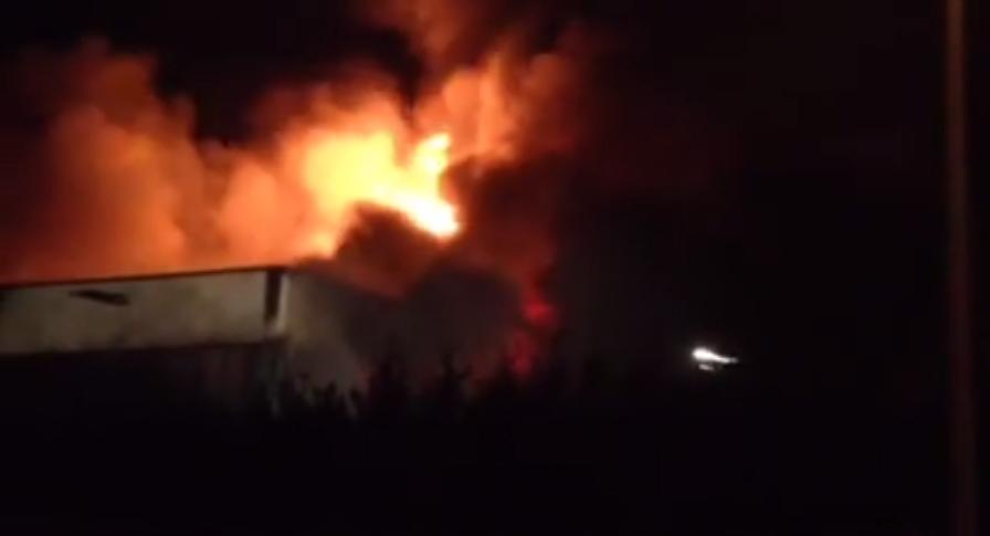 incendio Nek Monselice