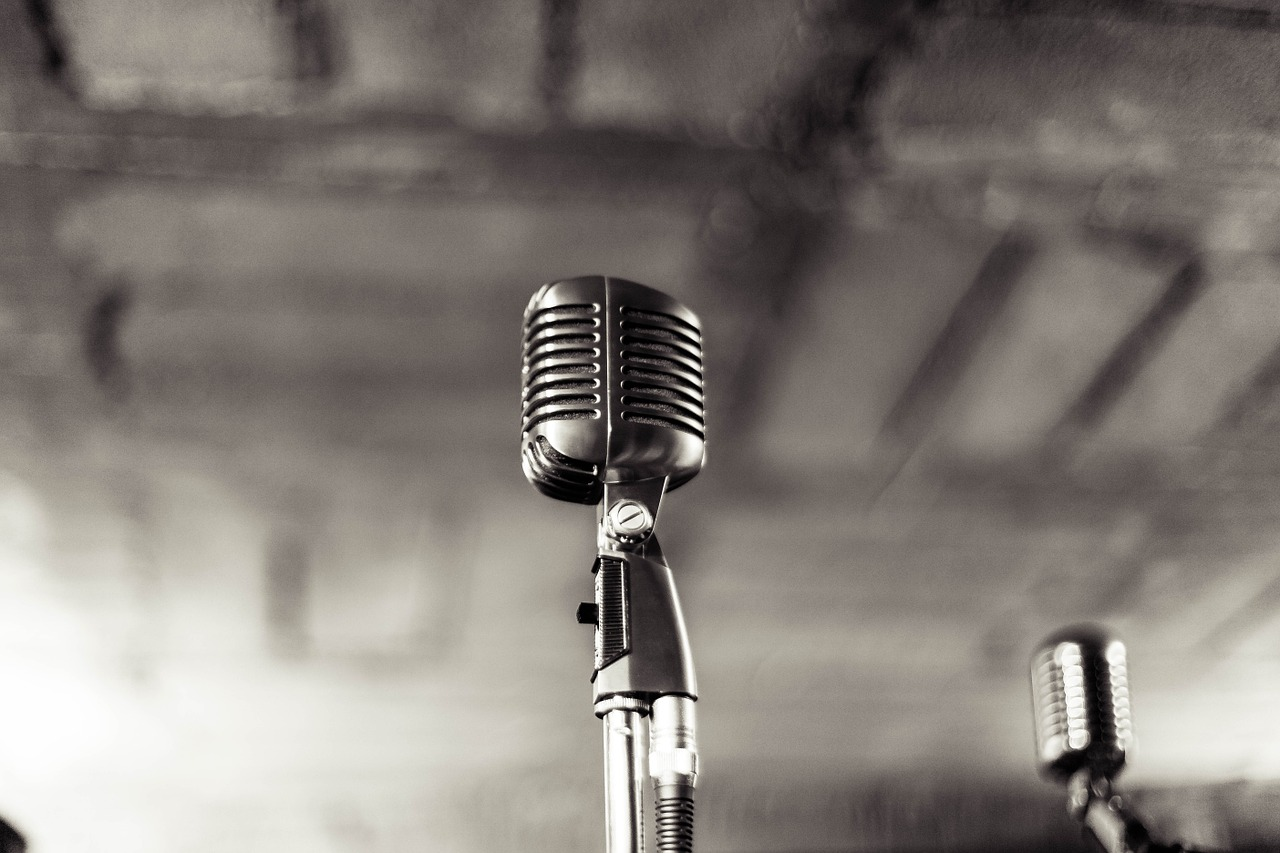 microfono voce