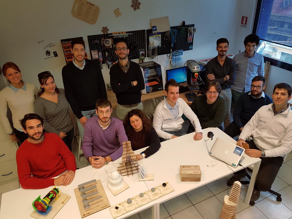 Giovani disoccupati in montagna per diventare tecnici dell'ibridazione tecnologica con FabLab Network, Ecipa Cna e Retica