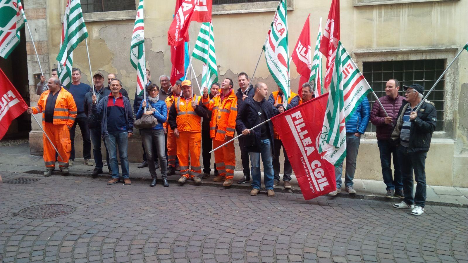 Serenissima Costruzioni protesta