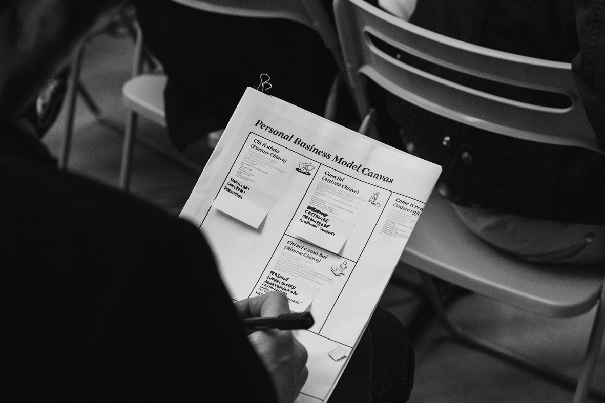 Personal business model canvas fornace dell'innovazione asolo