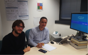 Da sinistra: Daniele Lain e Mauro Conti