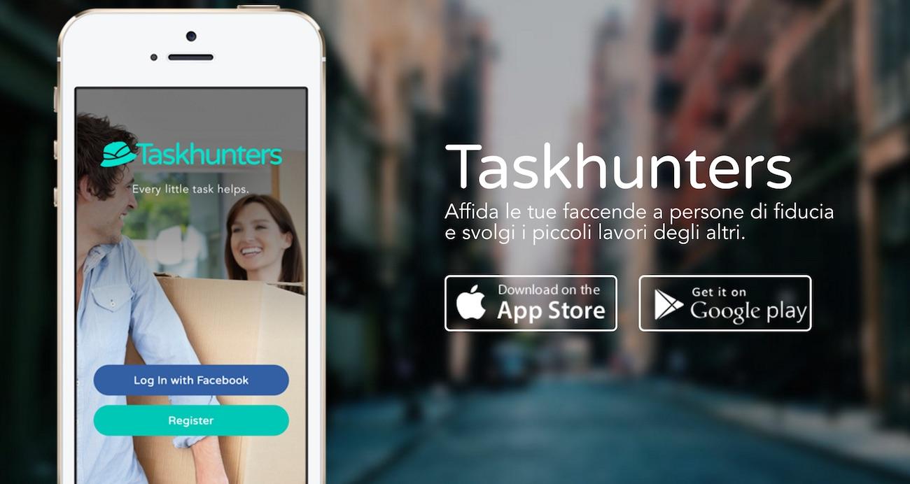 Taskhunters, l'app che trova agli universitari piccoli lavori nel 2017 anche a Padova