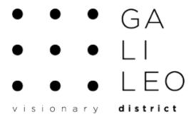 Nuovo logo per il Parco Galileo