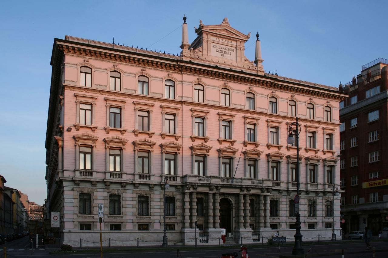 Assicurazioni Generali, sede di Trieste. Foto di Massimo Goina