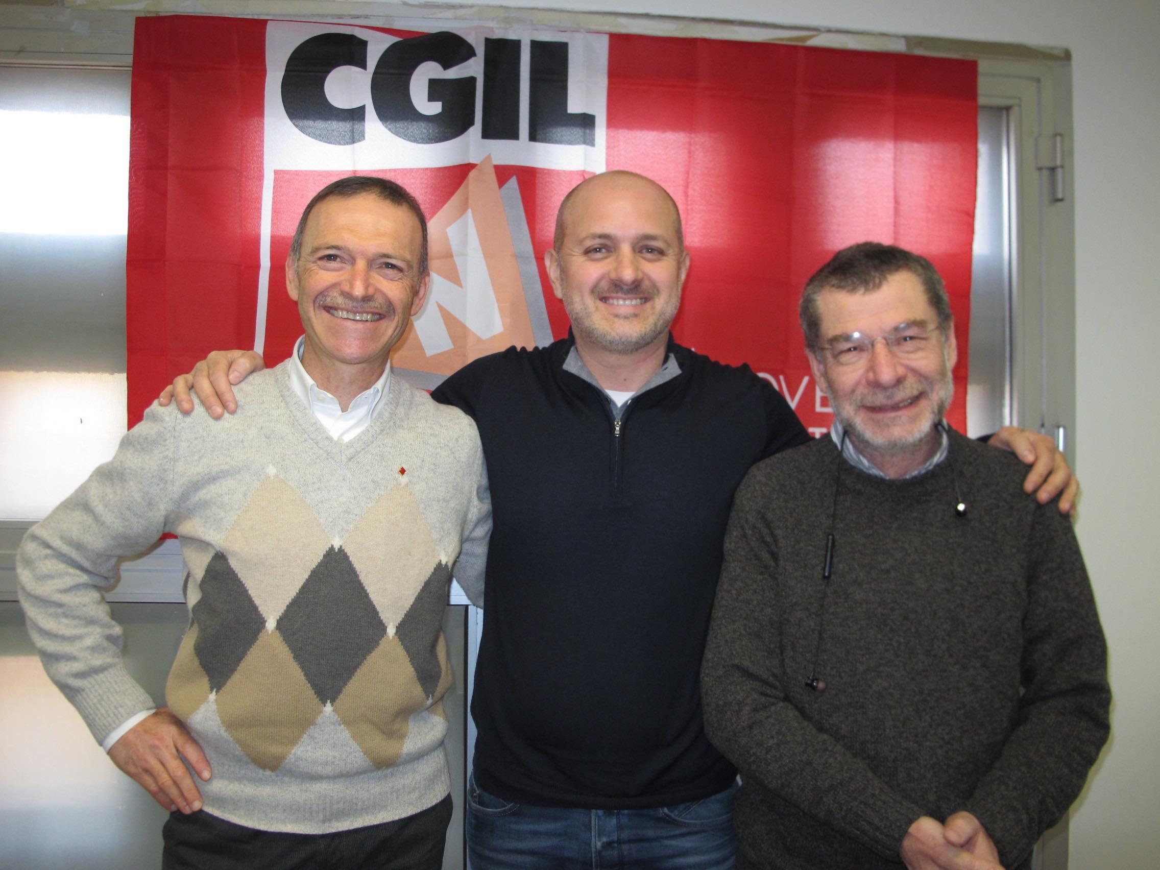 Giampaolo Zanni, Riccardo Martin, Claudio Treves
