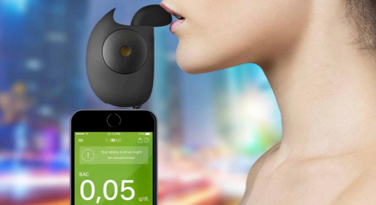 floome etilometro smartphone