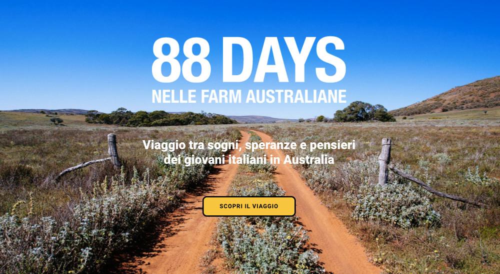 lavorare in Australia 88 Days