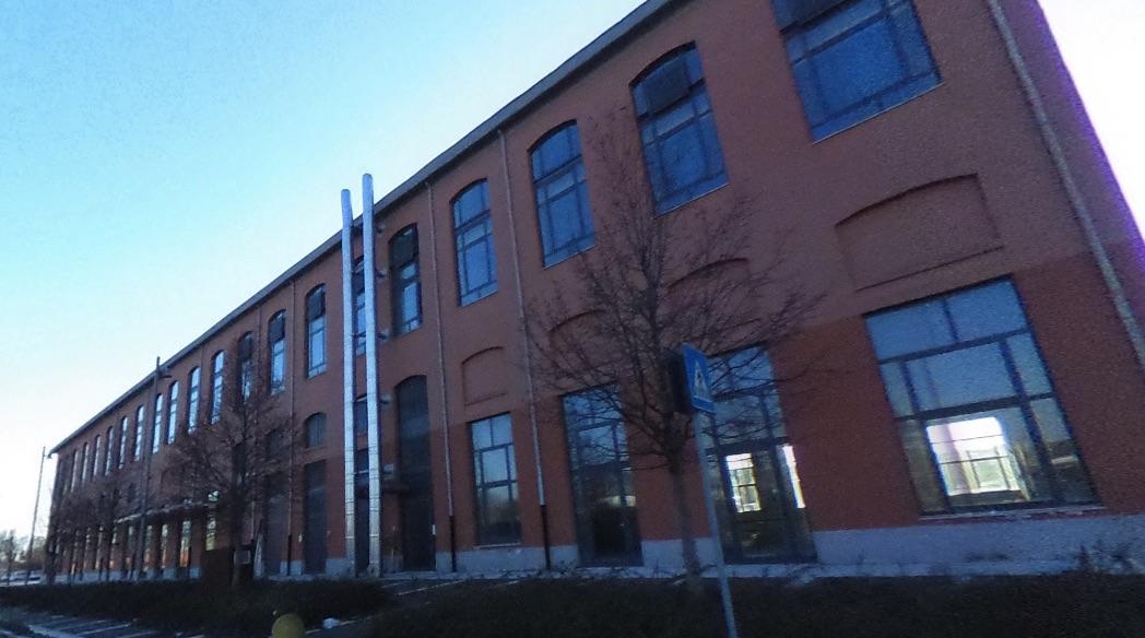 L'edificio che ospita il Coworking E13 di Legnago