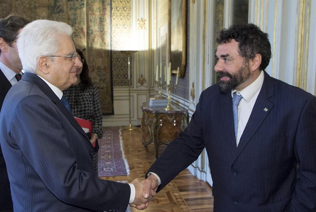 Sergio Mattarella Ugo Biggeri Banca Etica