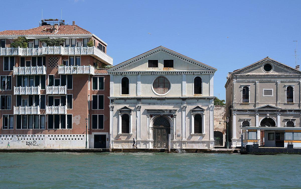 chiesa dello Spirito Santo Venezia via Wikipedia