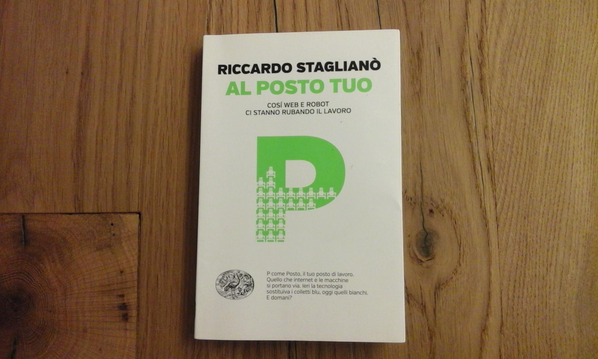 Al posto tuo, di Riccardo Staglianò