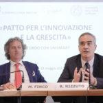 Massimo Finco e Rosario Rizzuto