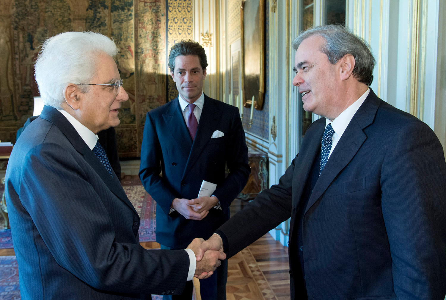 Achille Variati Sergio Mattarella
