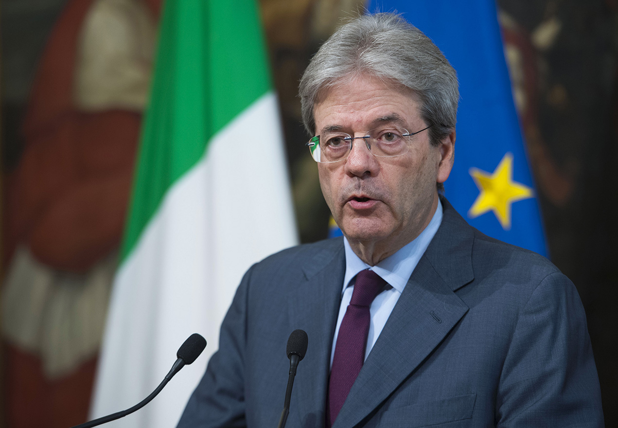 Paolo Gentiloni, Foto T. Barchielli, Creative Commons, licenza licenza CC-BY-NC-SA 3.0 IT
