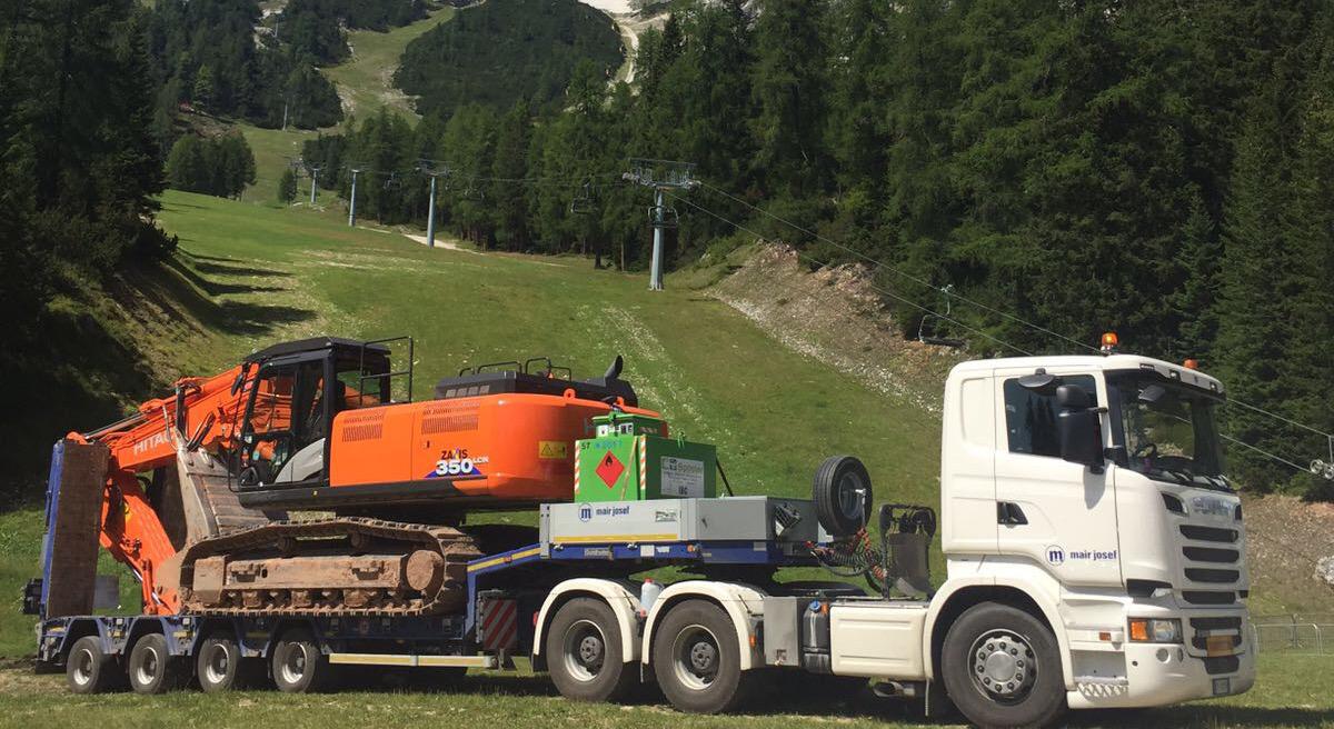 Cortina d'Ampezzo, lavori alla pista Vertigine
