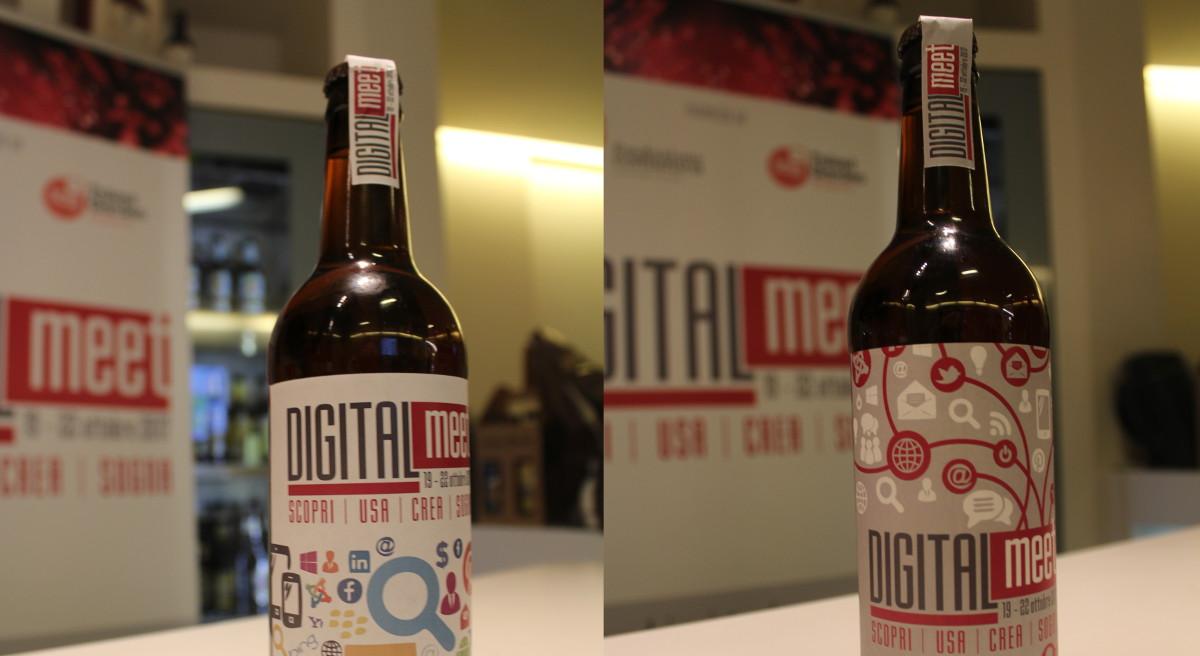 digitalmeet beer etichetta