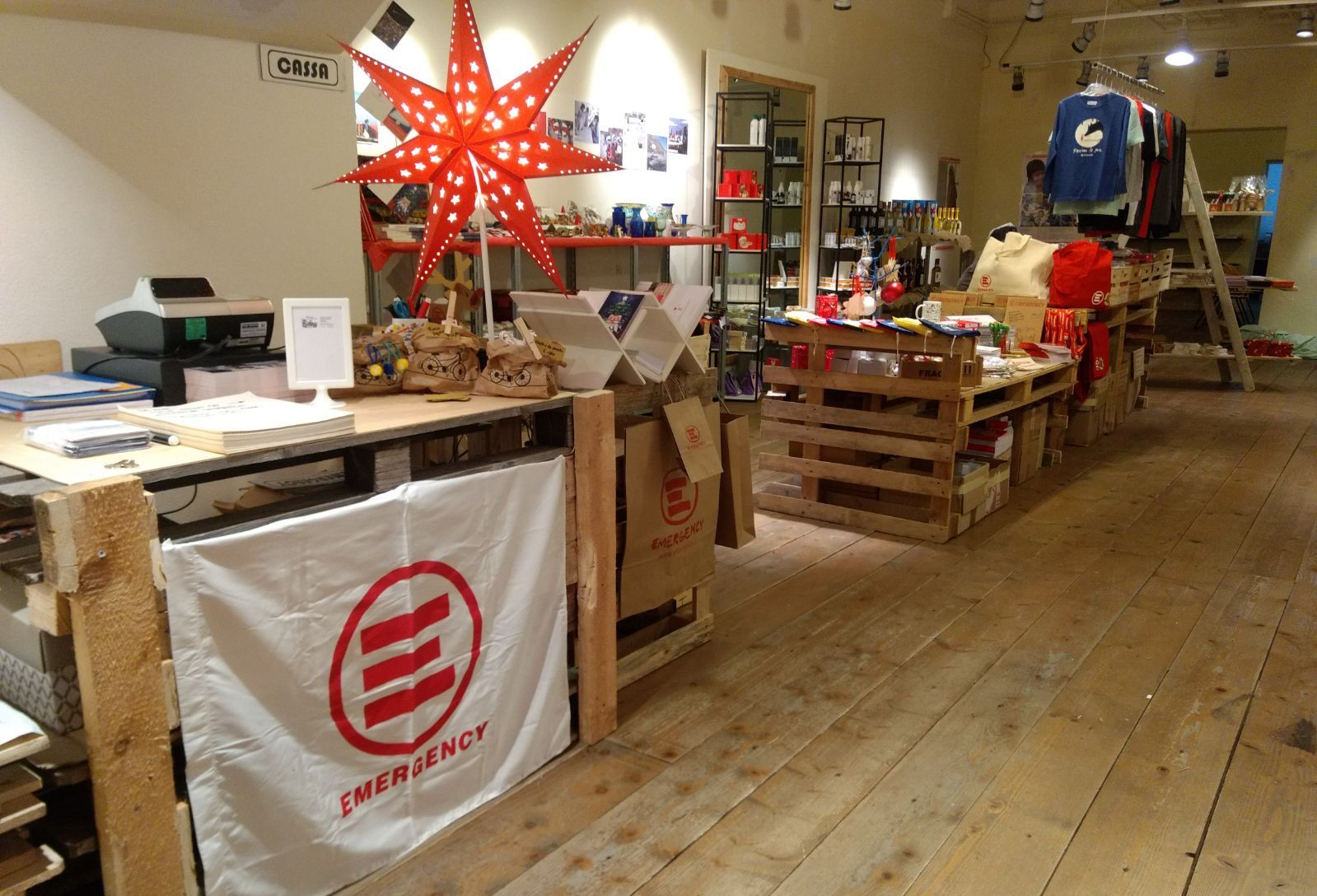 spazio di Natale di Emergency – Padova – 2017 – 2